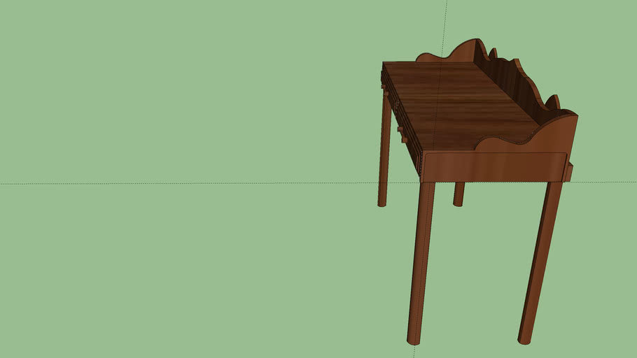 Walnut Wood Table