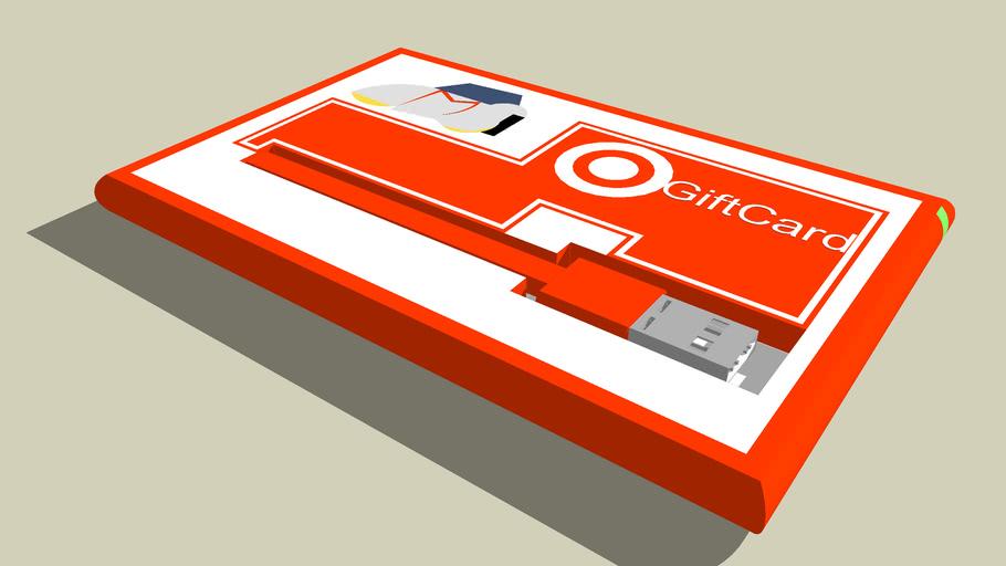 Speed Racer Target Memory Card/Gift Card