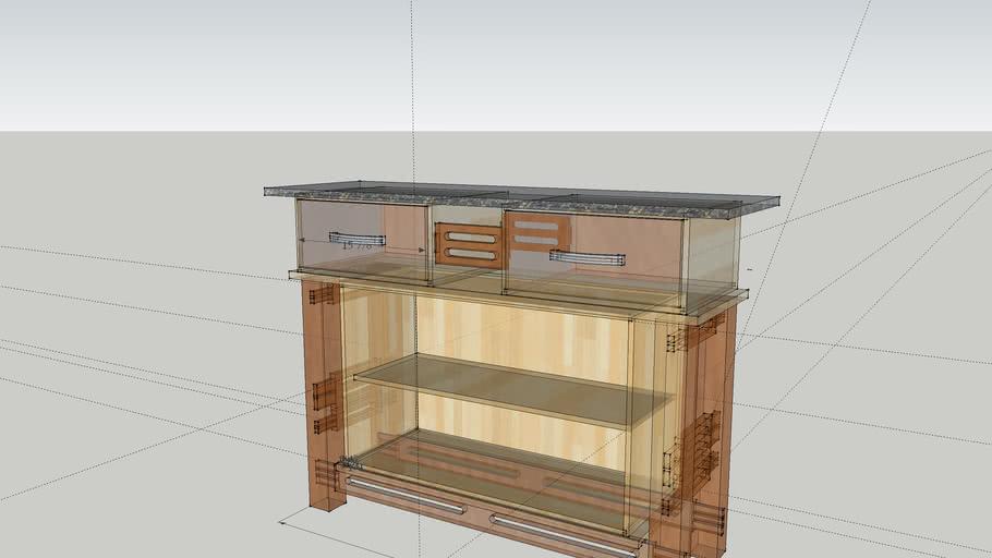 The Console shelf