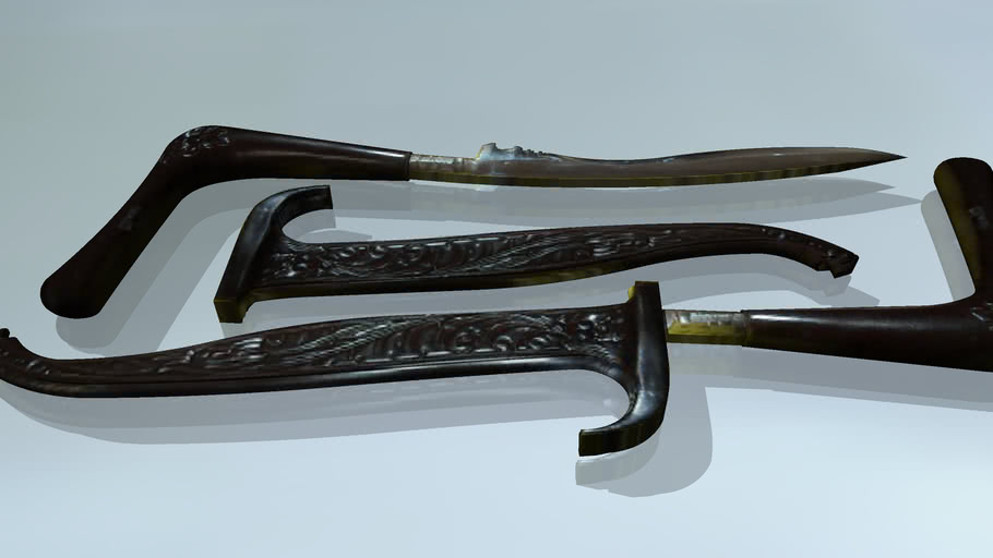Rencong - Traditional Weapon