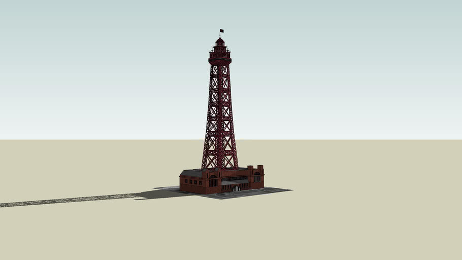 Blackpool Tower, Blackpool, Lancashier, Engerland, UK