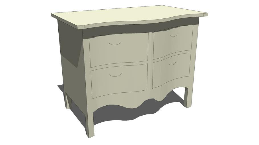 Dresser 4 Drawer