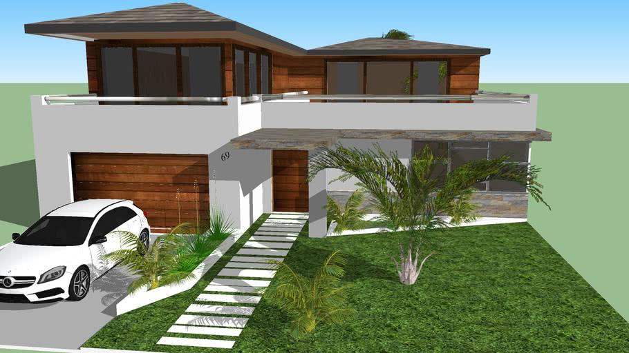 CASA MODERNA SIMPLES 3 Modern Home
