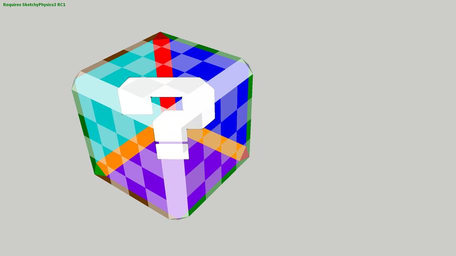 mario kart DD item box (sketchyphysics)