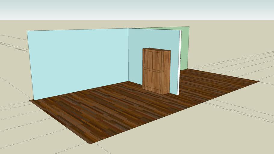 Kitchen & Living Room Detail