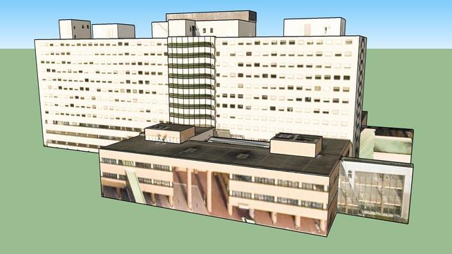 hokudai 附属病院病棟