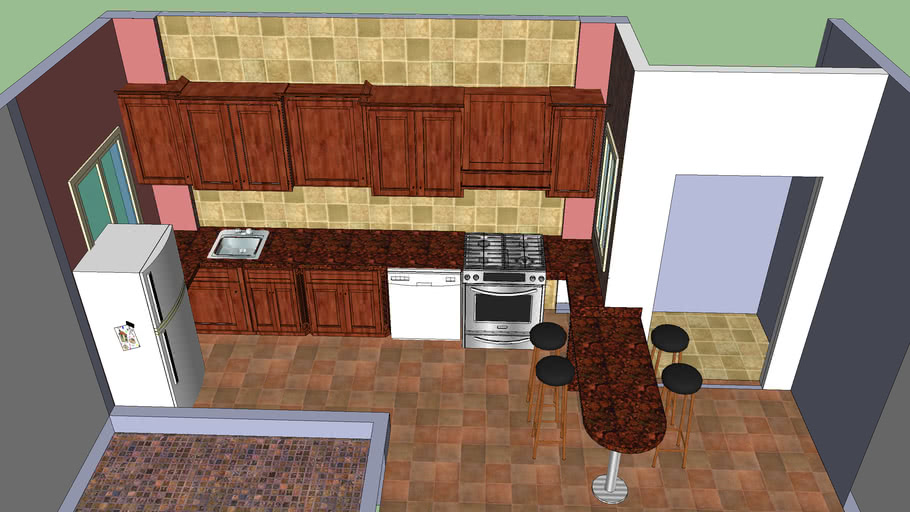 Yousef Kitchen 3d Warehouse
