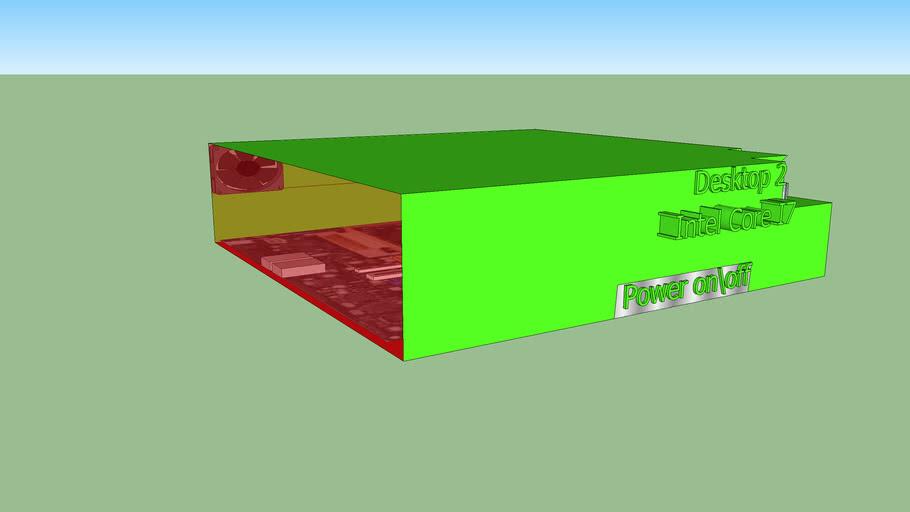 Desktop 2 (Intel Core I7) Cristmas Edition Color.