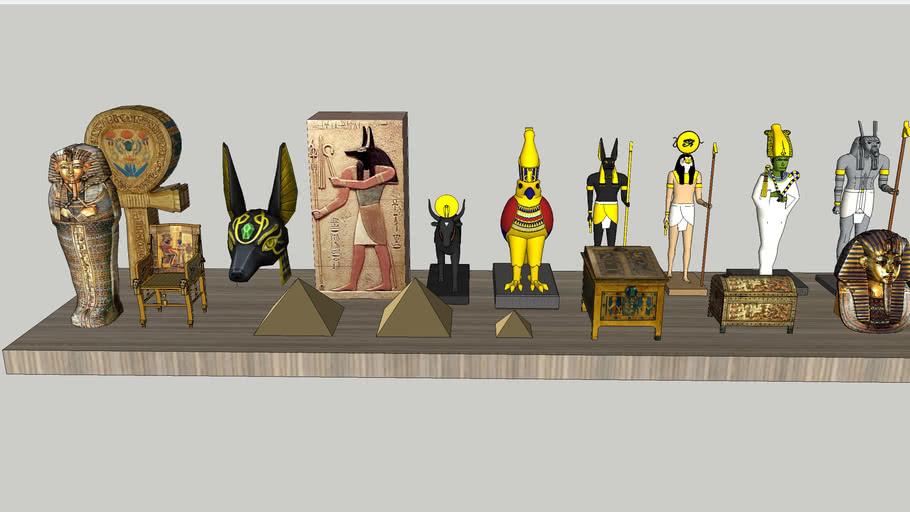 埃及飾品  Egyptian decorations