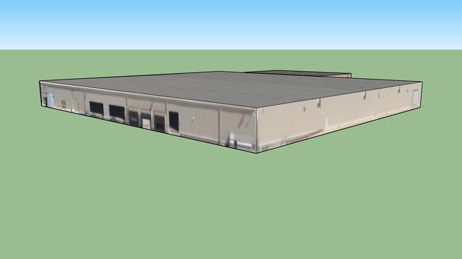 Arrowhead, 加利福尼亚州, 美国的建筑模型
