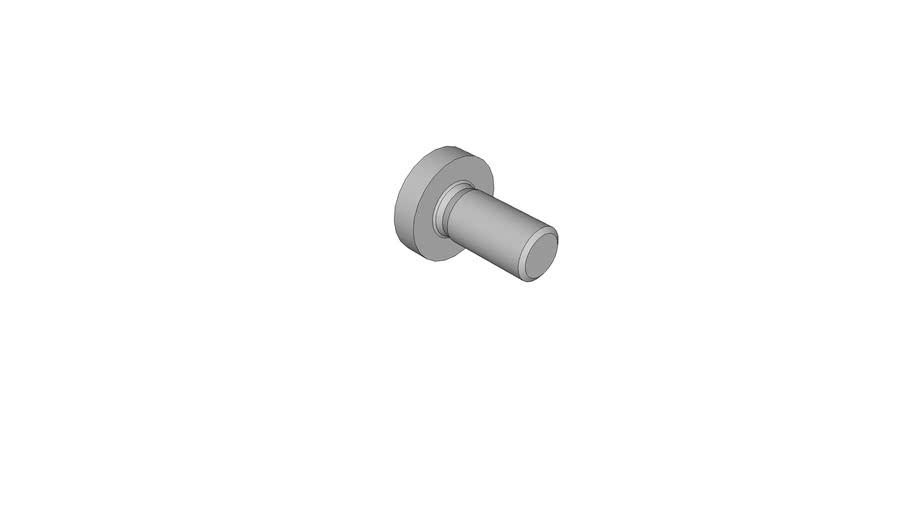 07141072 Cross recessed raised cheese head screws DIN 7985 AM8x16 -H