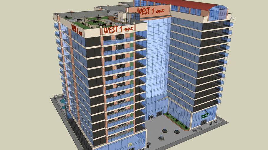 14-Story Condominium Building, WEST 1 one Tower