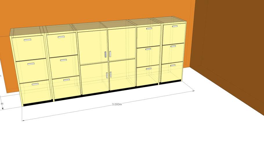 meja cabinet