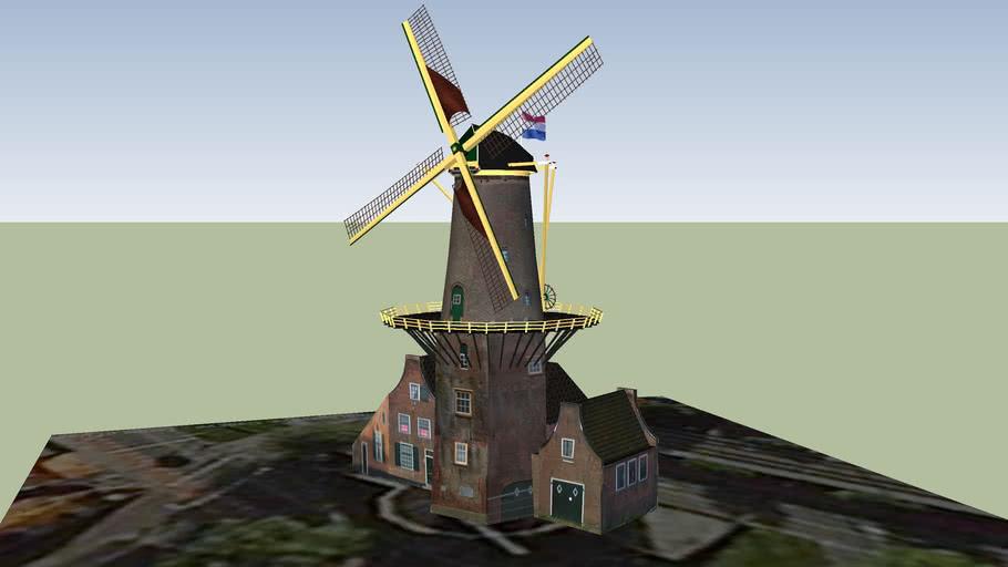 Molen de Roos (Delft)