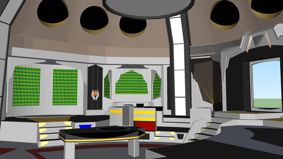 DEEP SPACE NINE OPERATIONS CENTER (in progress)
