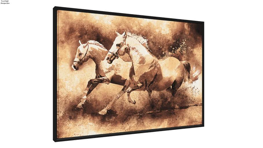 Quadro Horse Sépia II