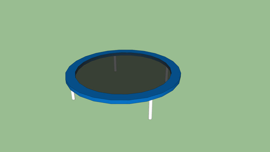 Trampoline without net