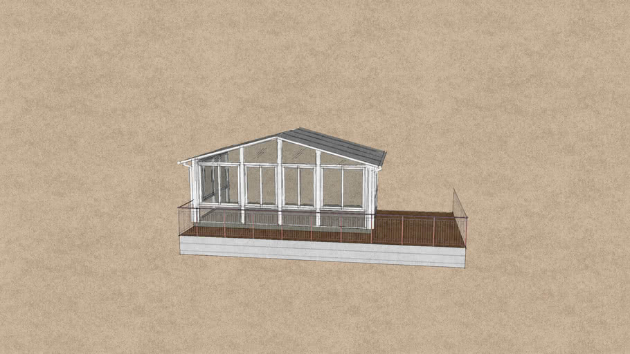 Cathedral A Frame Gable Roof Sunroom