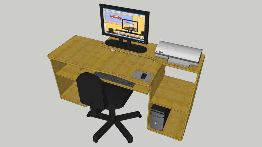 Desk - Wood Effect