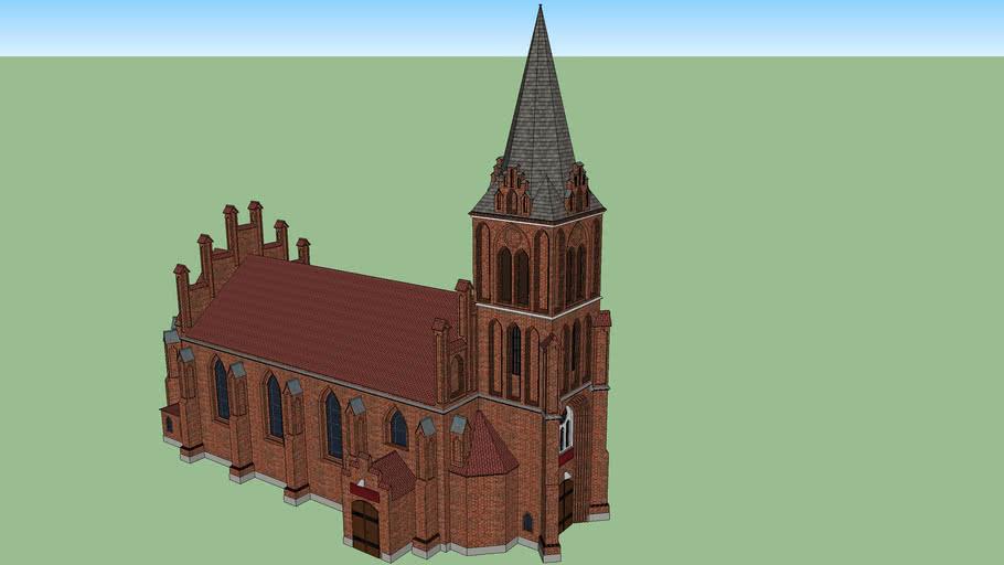 Church / kościół św Brunona w Bartoszycach