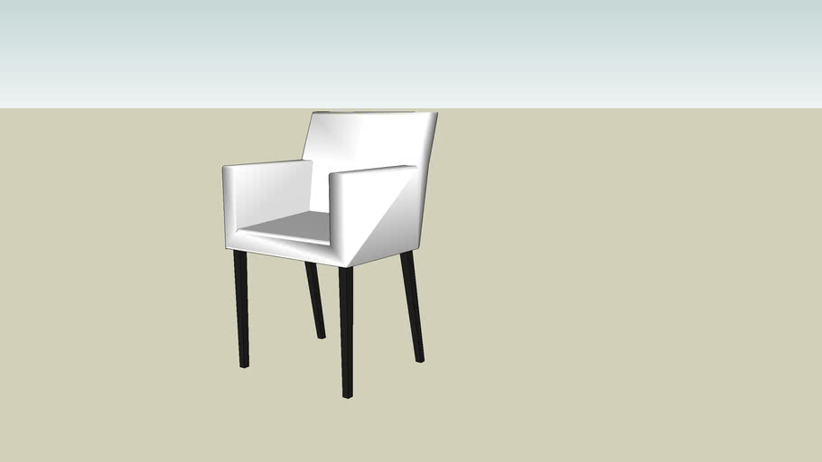 Eetkamer Stoel Ikea.Dining Chair Eetkamerstoel Ikea 3d Warehouse