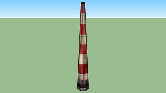 3D 2-я труба НГРЭС