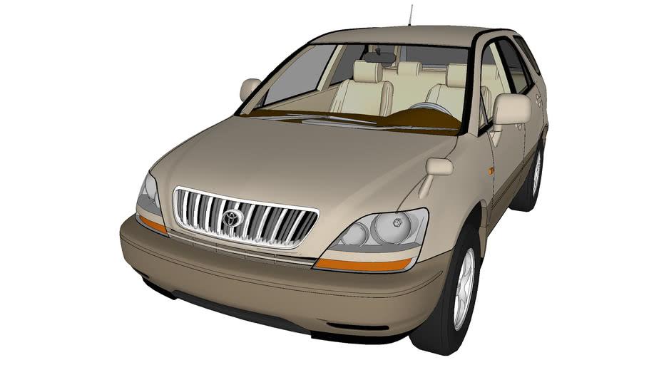 TOYOTA HARRIER 1998 - LEXUS RX 300