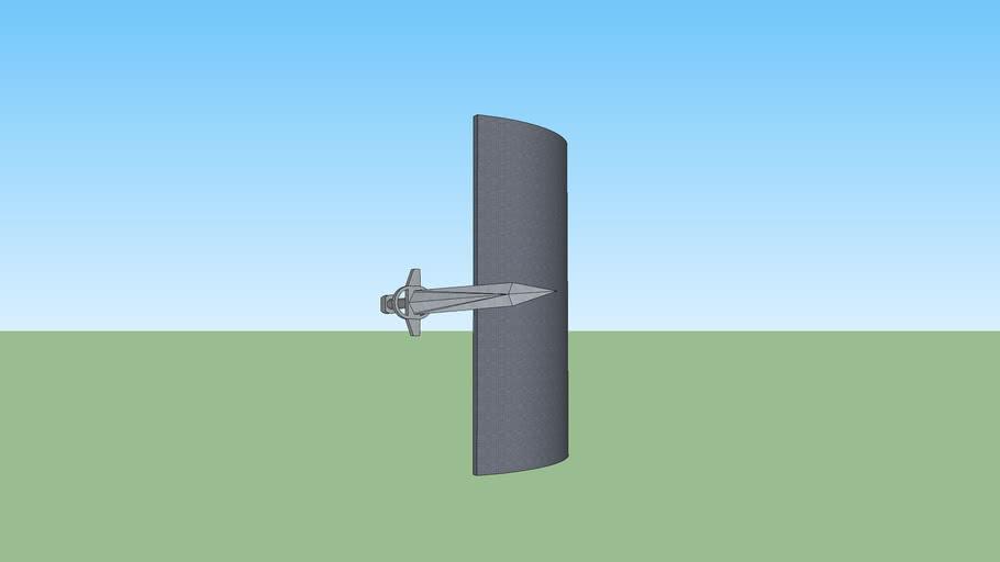 Arkadian regular sword and shield