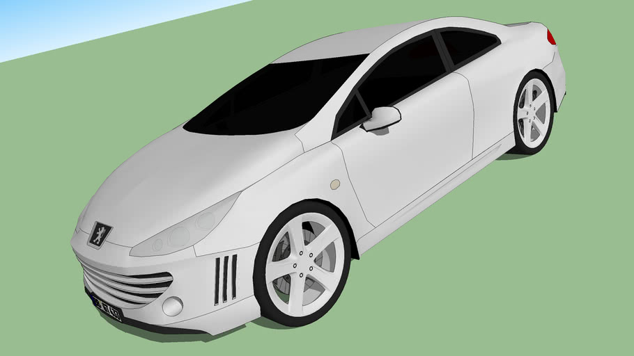 Peugeot 407 Coupe 2004