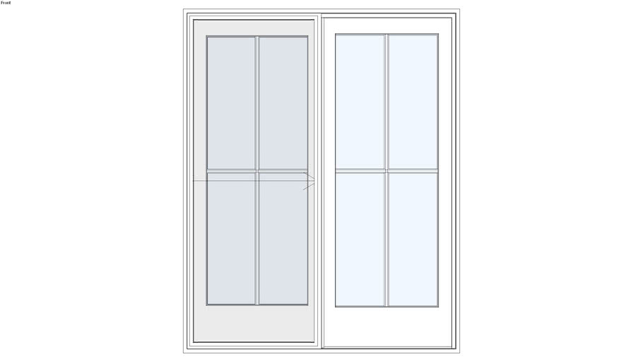 Ultra™ Series Sliding French Door