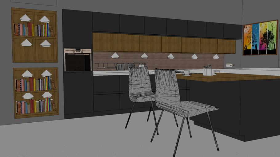 Mutfak dolabı Model Çalışması