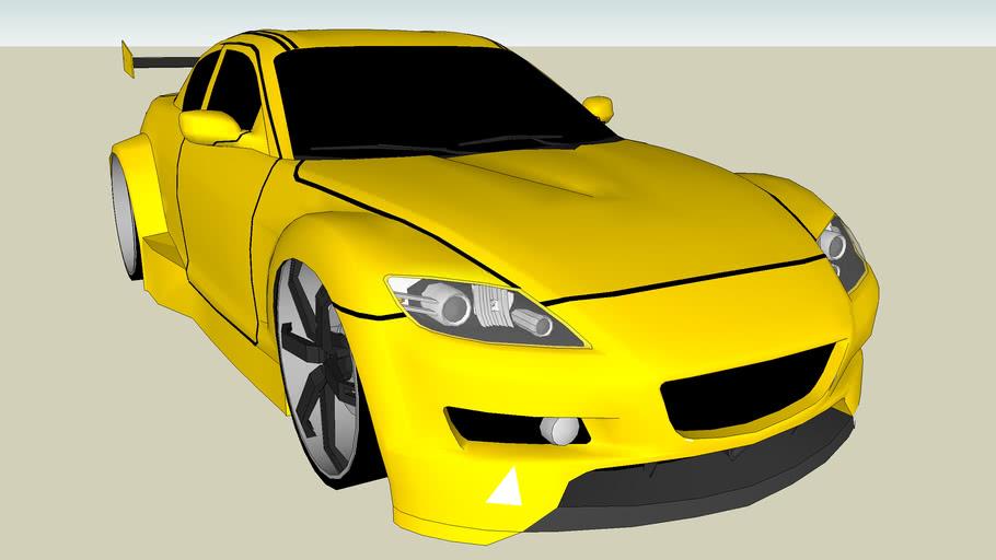 Tuned Mazda RX-8