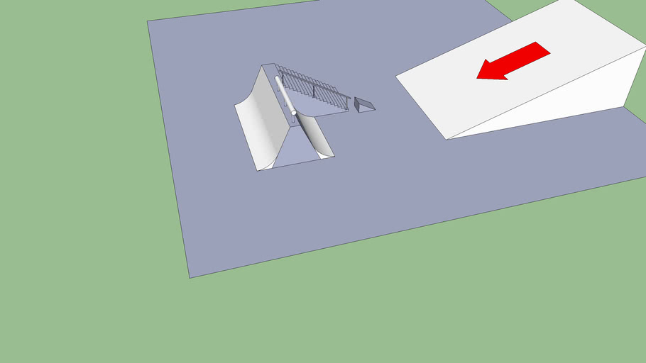spine/ up rail stair set