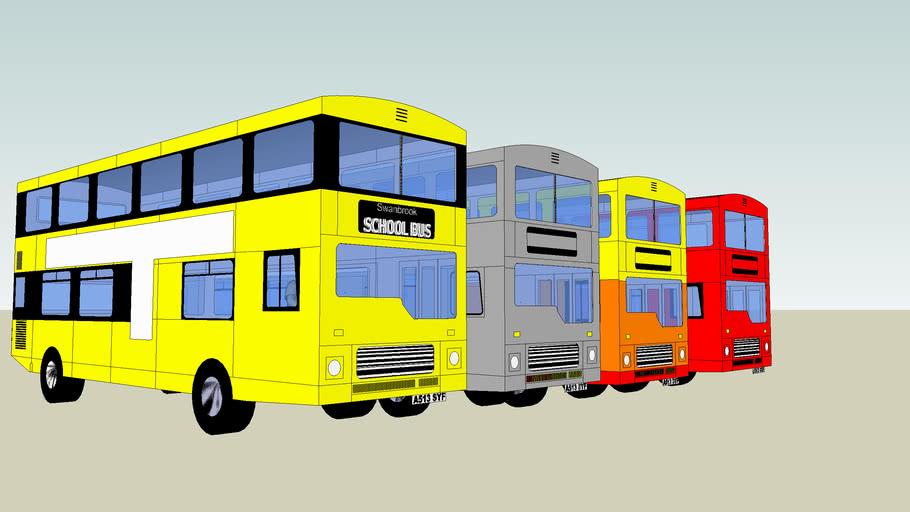 4 Mcw Metrobuses