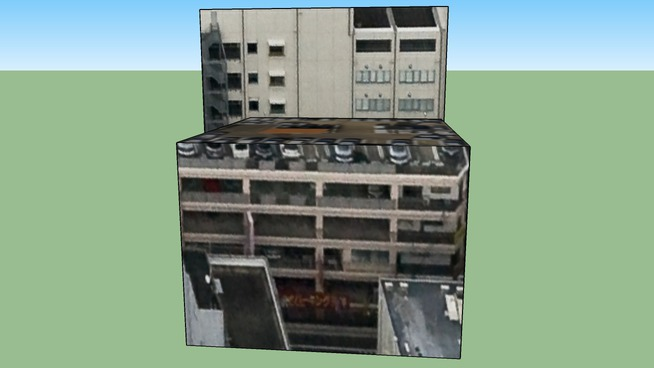 Building in Japan, Fukuoka Prefecture Fukuoka Chuo Ward天神