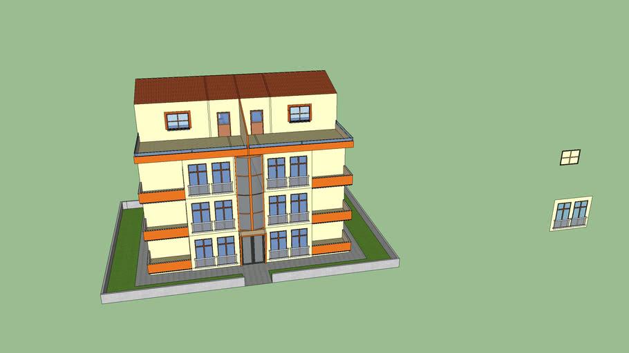 3 Katlı ev model