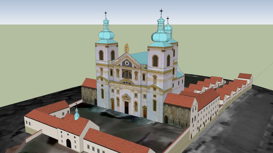 Monastery of the Cameldolite at Bielany near Krakow