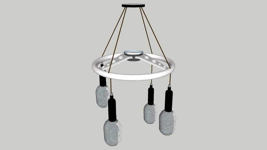 Drop Light Chandelier