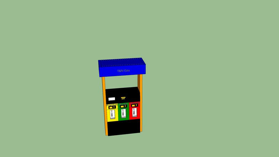 My custom gas pump