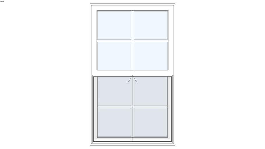 Tuscany Series Single Hung Window Warehouse