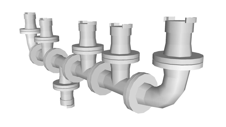 Manifold for DW entrance NMP