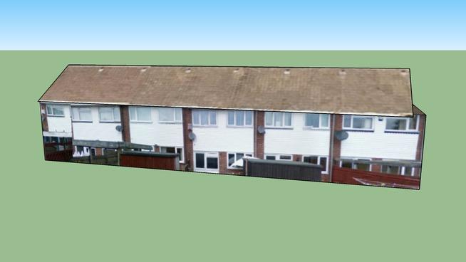 Building in Pentwyn, Cardiff CF23, UK