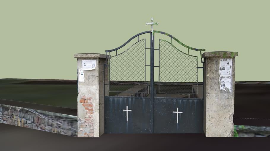 Оградата на църквата