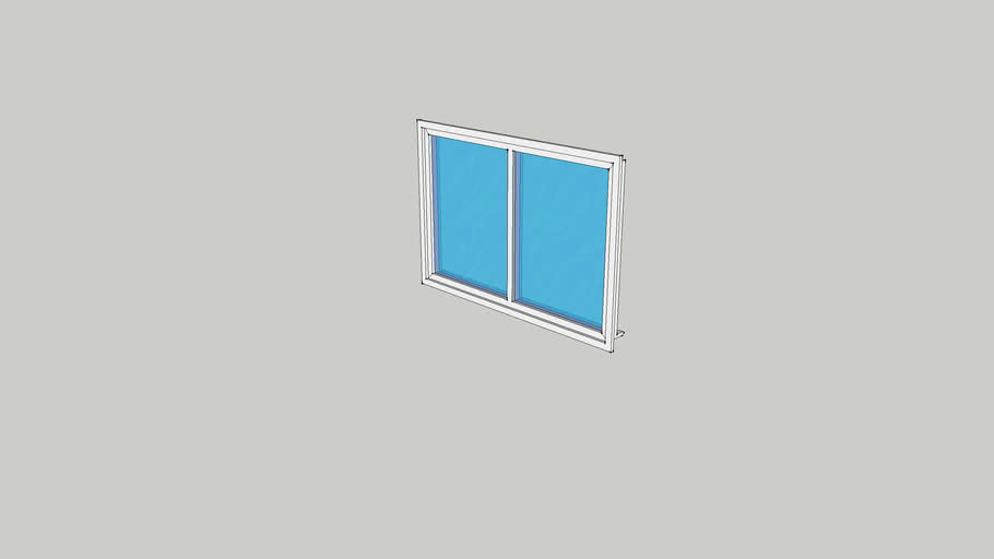 Double Window (Plain)