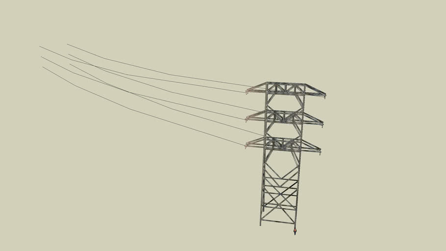 16 Electrical Towers on Tenth
