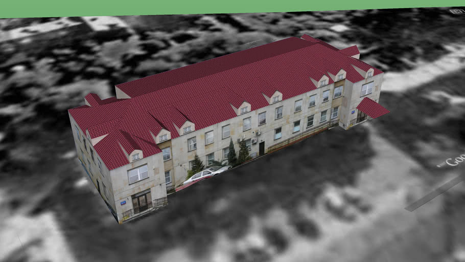 Budynek Urzędu Dzielnicy Bielany