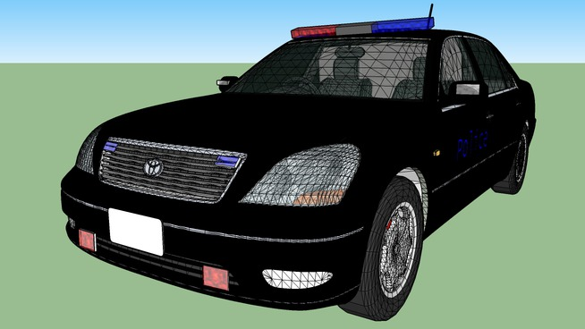 Police Toyota