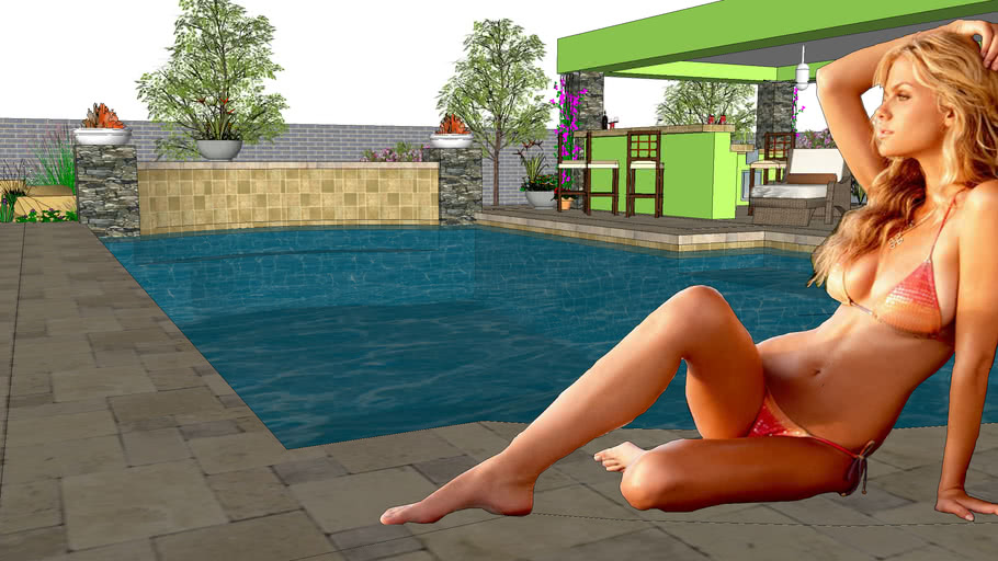 Simming Pool By Sal