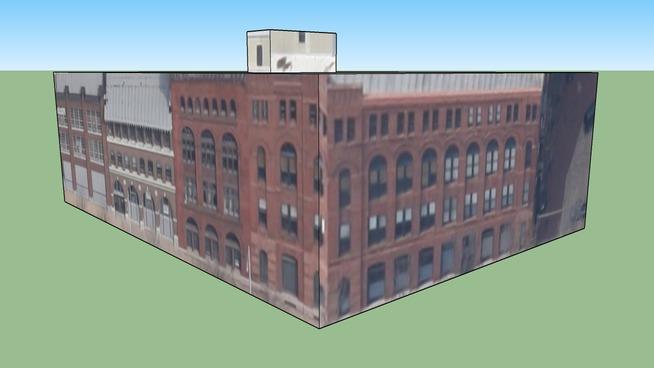 Zgradba v St. Louis, Misuri, Združene države Amerike
