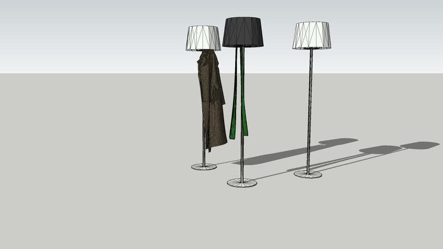 Coat stand - Coat Lamp